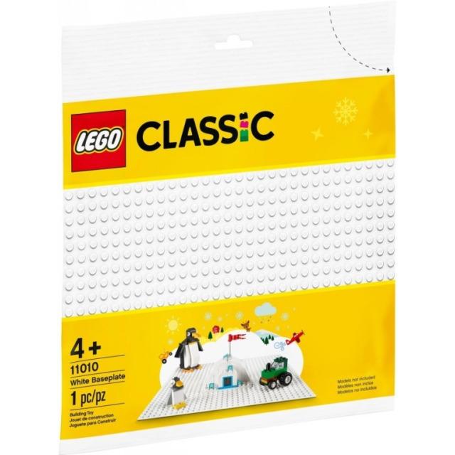 Obrázek produktu LEGO Classic 11010 Bílá podložka na stavění