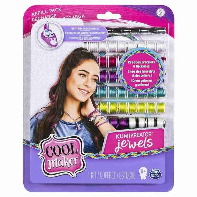 Obrázek produktu Cool Maker Náhradní nitě pro náramkovač KUMI JEWELS