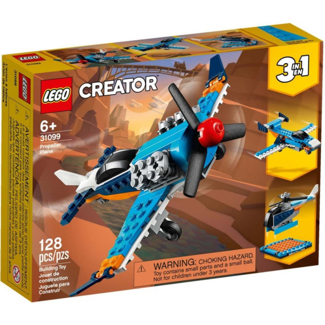 Obrázek produktu LEGO CREATOR 31099 Vrtulové letadlo