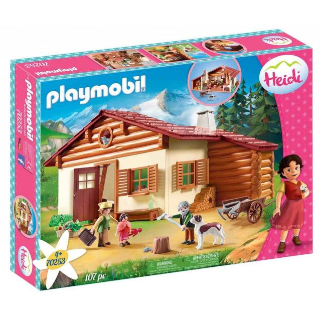 Obrázek produktu Playmobil 70253 Heidi a dědeček na salaši