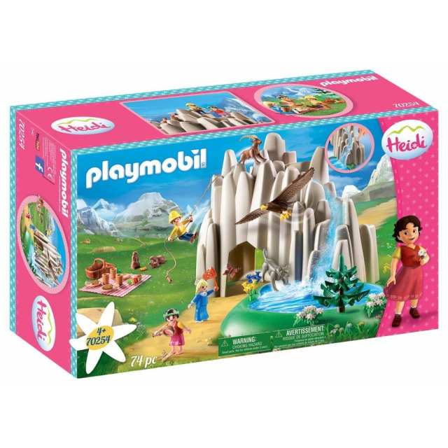 Obrázek produktu Playmobil 70254 Jezerní louka s Heidi, Petrem a Klárou