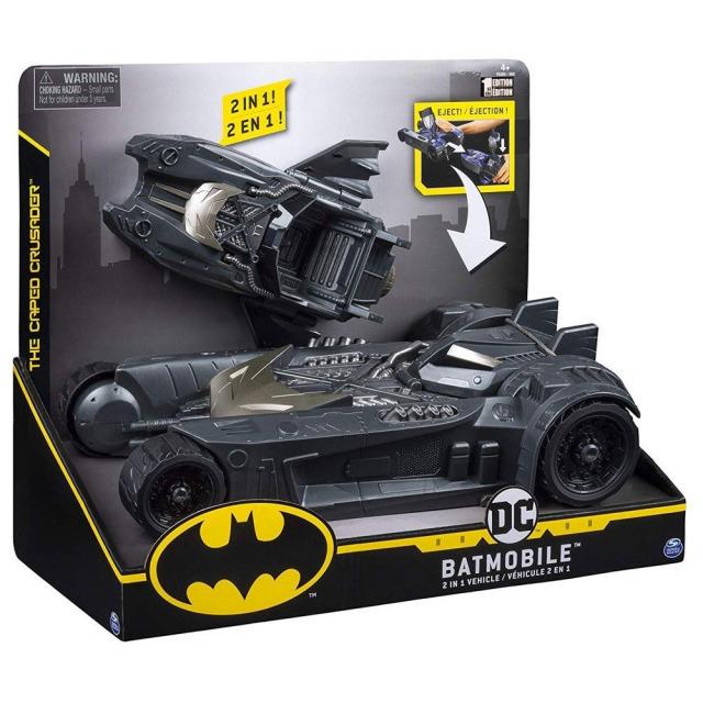 Obrázek produktu Spin Master Batman Batmobil a Batloď pro figurky 10 cm