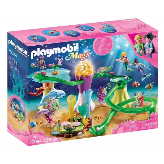 Obrázek produktu Playmobil 70094 Korálová jeskyně se světelnou kupolí