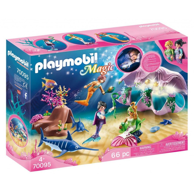 Obrázek produktu Playmobil 70095 Noční světlo Mušle s perlami