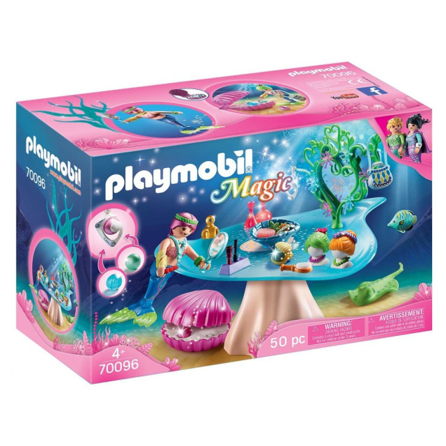 Obrázek produktu Playmobil 70096 Salón krásy s mušlí na perly