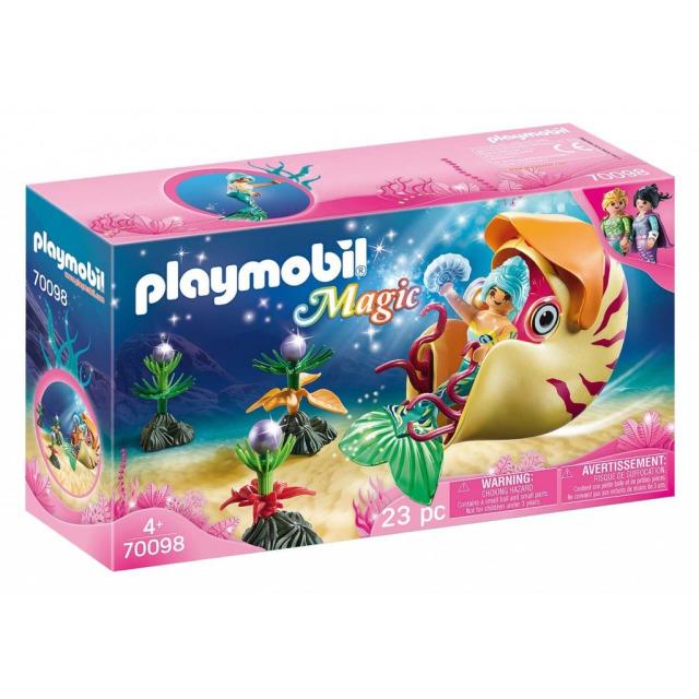 Obrázek produktu Playmobil 70098 Mořská panna se šnečí gondolou