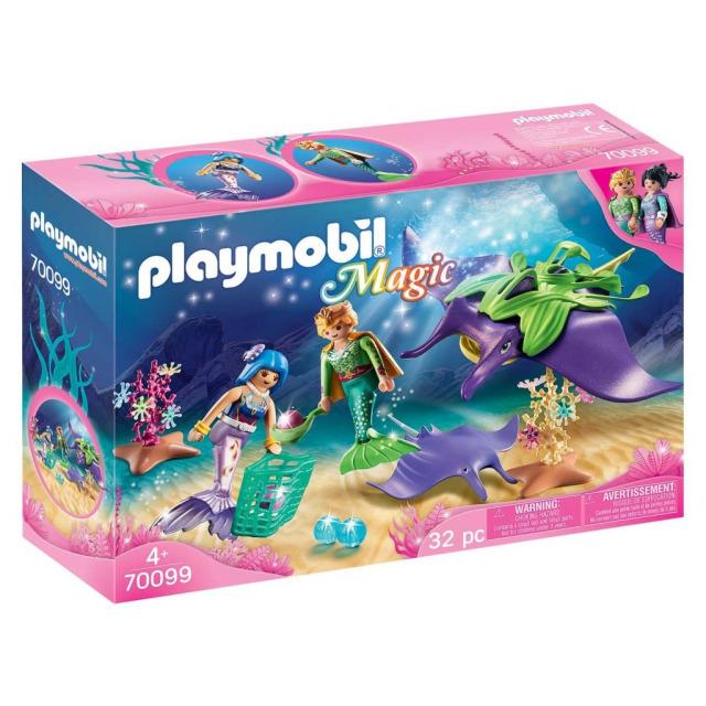 Obrázek produktu Playmobil 70099 Sběratelé perel s rejnokem