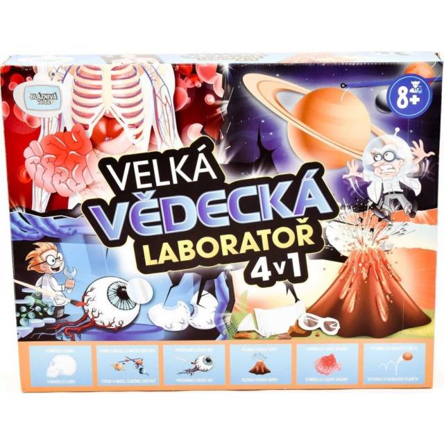 Obrázek produktu Velká vědecká laboratoř 4v1