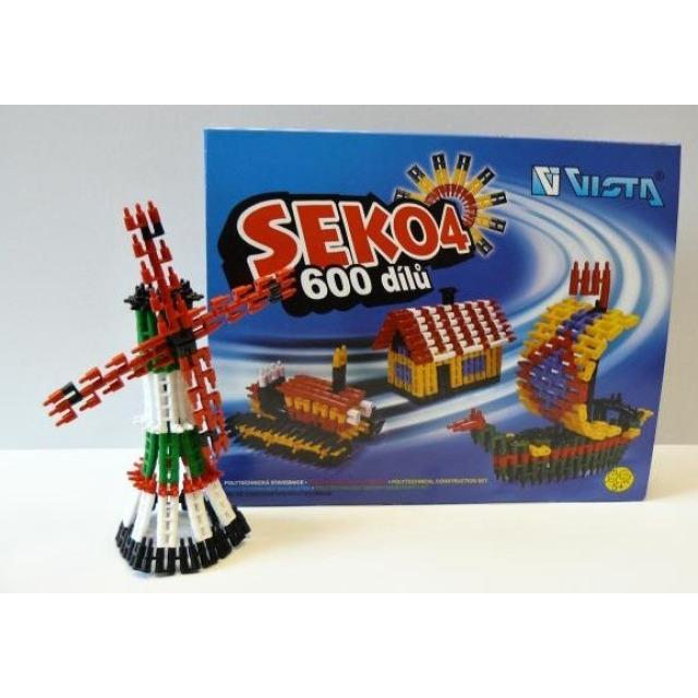 Obrázek produktu SEKO 4, polytechnická stavebnice, 600 dílů