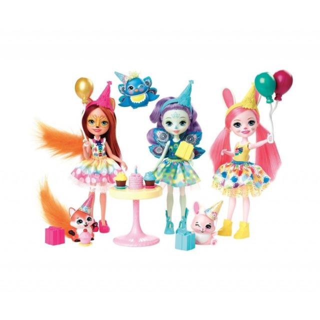 Obrázek produktu ENCHANTIMALS Narozeninová oslava, Mattel GJX22
