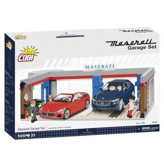 Obrázek 1 produktu Cobi 24568 - Maserati Garáž
