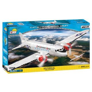 Obrázek 1 produktu COBI 5702 World War II Letadlo Douglas C-47 Skytrain Dakota Berlínský most