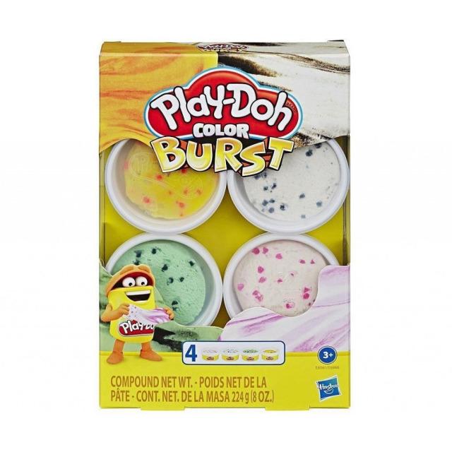 Obrázek produktu Play Doh Barevné balení modelíny žlutá, zelená, 2x bílá, Hasbro E8061