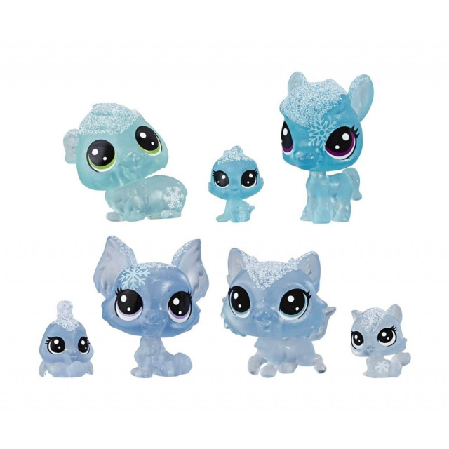 Obrázek produktu LPS Zvířátka z ledového království 7ks Ice, Hasbro E5491