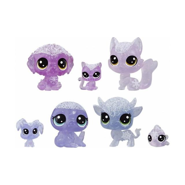 Obrázek produktu LPS Zvířátka z ledového království 7ks Violet, Hasbro E5492