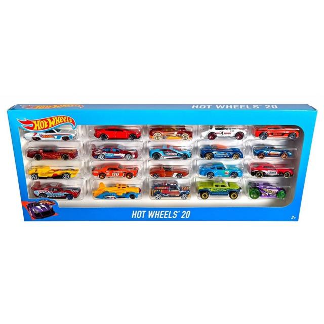 Obrázek produktu Hot Wheels Sběratelská kolekce 20 angličáků, Mattel H7045