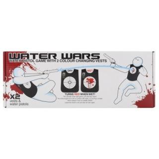 Obrázek 1 produktu Vodní bitva: Pistole + vesty po zásahu zčervenají