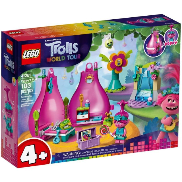 Obrázek produktu LEGO Trolls 41251 Poppy a její domeček
