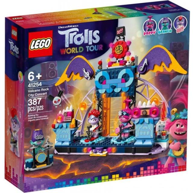 Obrázek produktu LEGO Trolls 41254 Trollové a rockový koncert