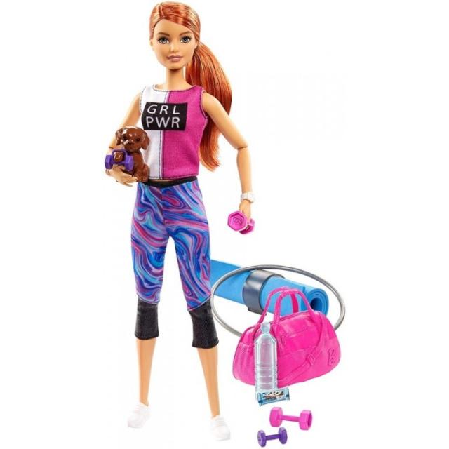 Obrázek produktu Mattel Barbie Wellness panenka zrzka, GJG57