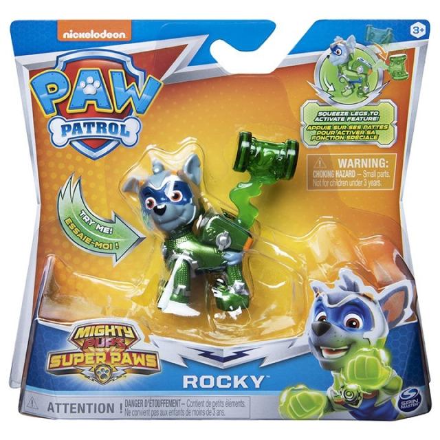 Obrázek produktu Tlapková patrola Základní figurka Super hrdinů Rocky 14288