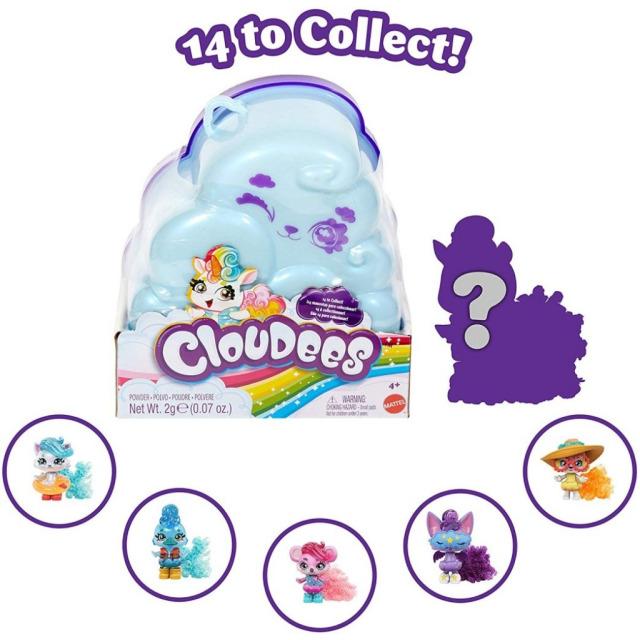 Obrázek produktu Mattel Cloudees Zvířátko série 1