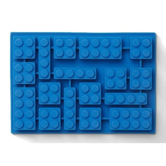 Obrázek produktu LEGO Iconic silikonová forma na led modrá