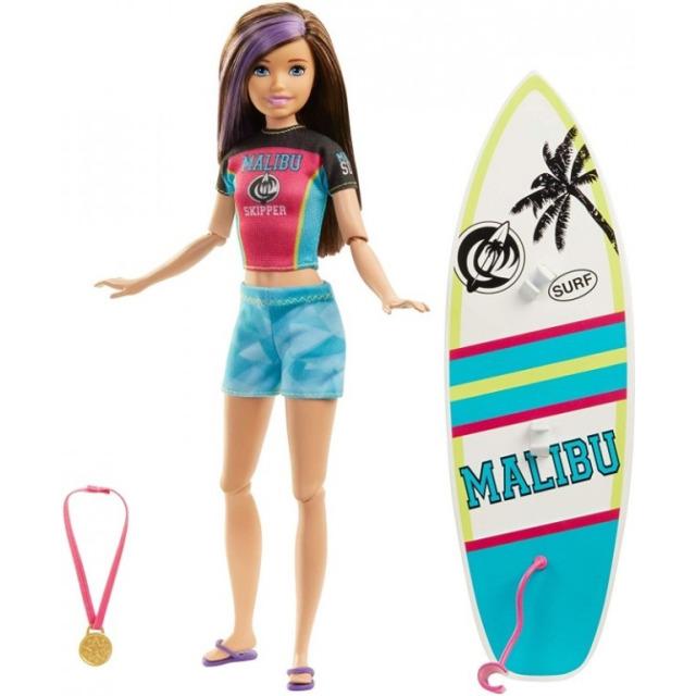 Obrázek produktu Barbie sportování Surfařka, Mattel GHK36