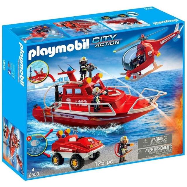 Obrázek produktu Playmobil 9503 Velká hasičská akce
