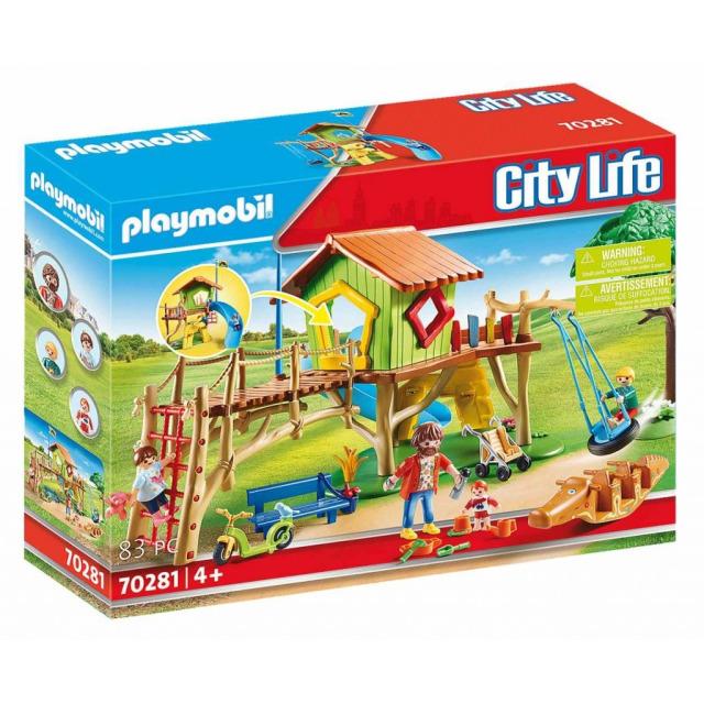 Obrázek produktu Playmobil 70281 Dobrodružné dětské hřiště