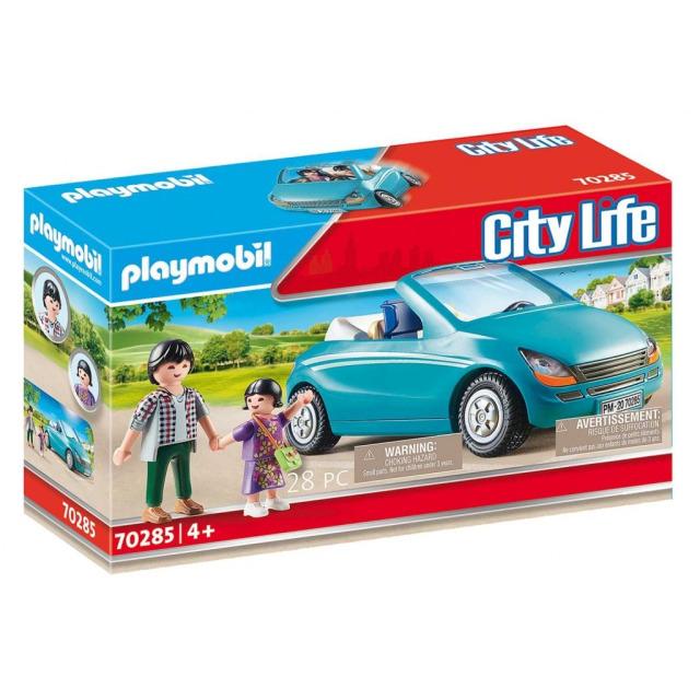 Obrázek produktu Playmobil 70285 Táta s dcerou v kabrioletu