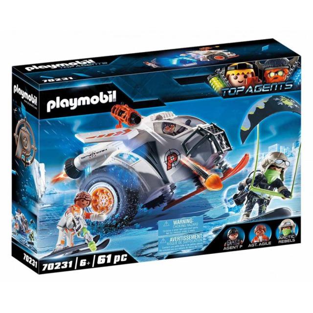 Obrázek produktu Playmobil 70231 Spy Team Sněžný kluzák