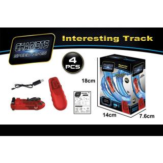 Obrázek 1 produktu Mustar RC auto pro orbitální trubkovou super dráhu červené