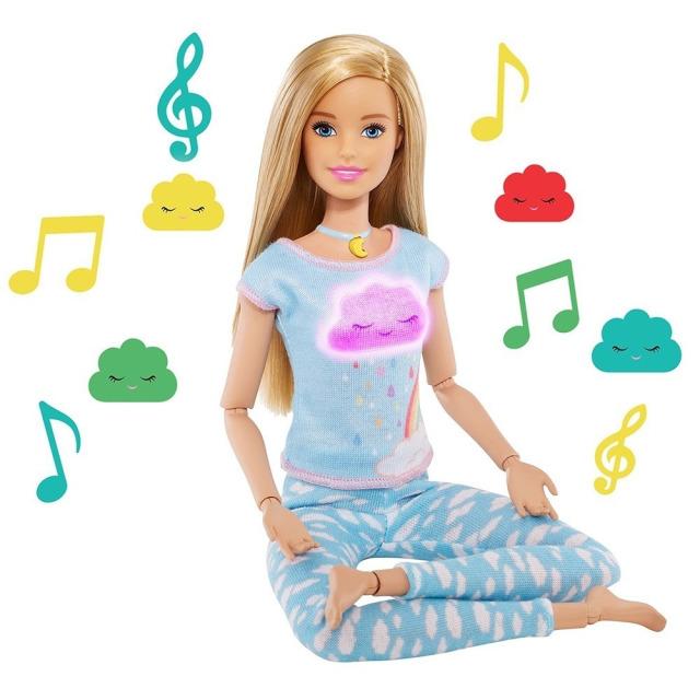 Obrázek produktu Mattel Barbie jogínka 5 meditací, GNK01