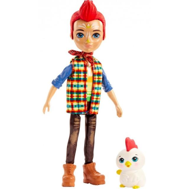 Obrázek produktu ENCHANTIMALS Panenka se zvířátkem Redward Rooster a Cluck, Mattel GJX39