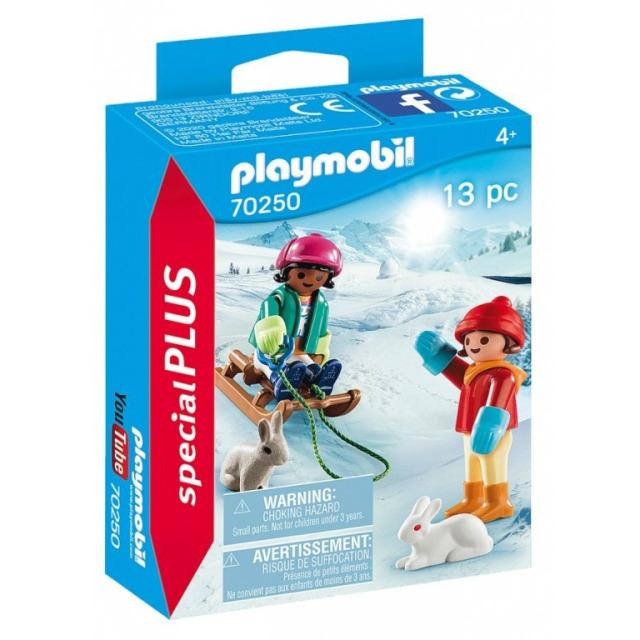 Obrázek produktu Playmobil 70250 Děti na sáních