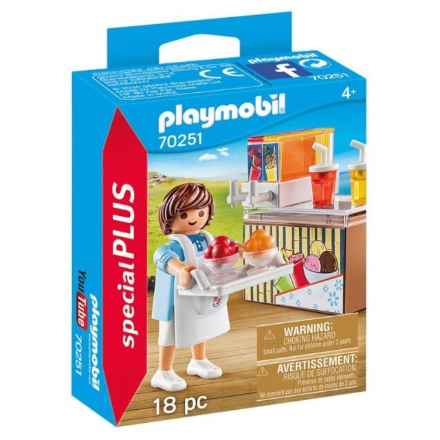 Obrázek produktu Playmobil 70251 Prodejce ledové tříště