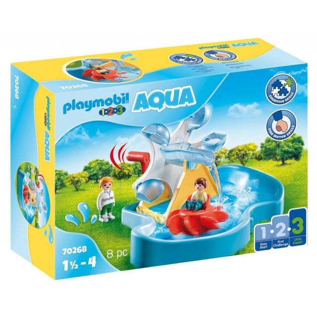 Obrázek produktu Playmobil 70268 Vodní mlýn s kolotočem (1.2.3)