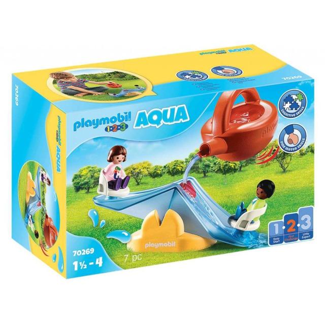 Obrázek produktu Playmobil 70269 Vodní houpačka s konvičkou (1.2.3)