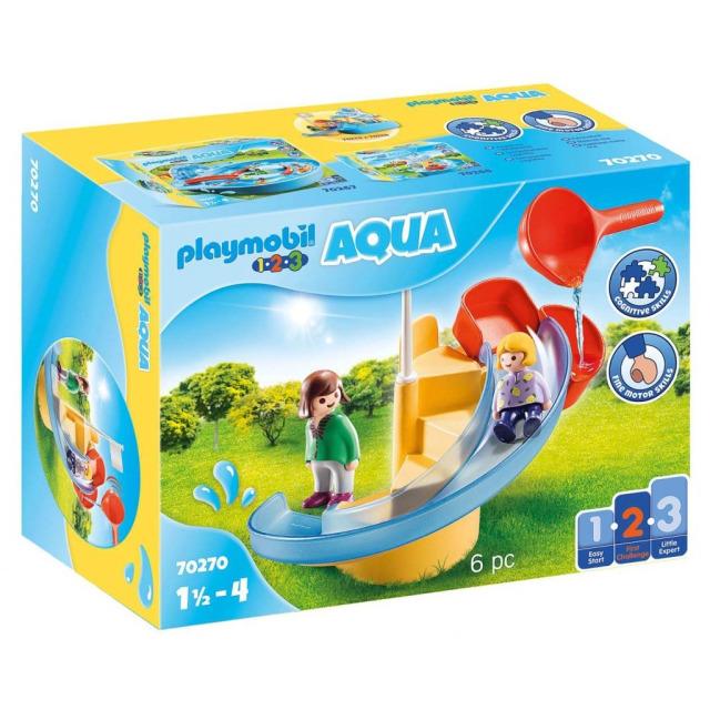 Obrázek produktu Playmobil 70270 Vodní skluzavka (1.2.3)