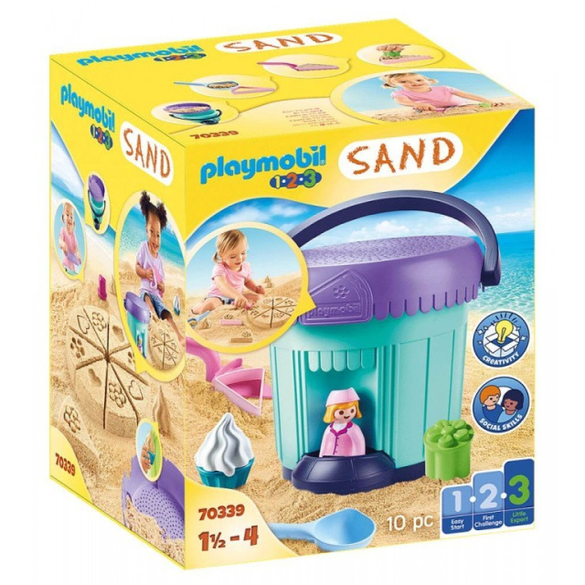 Obrázek produktu Playmobil 70339 Sada na písek Pekařství
