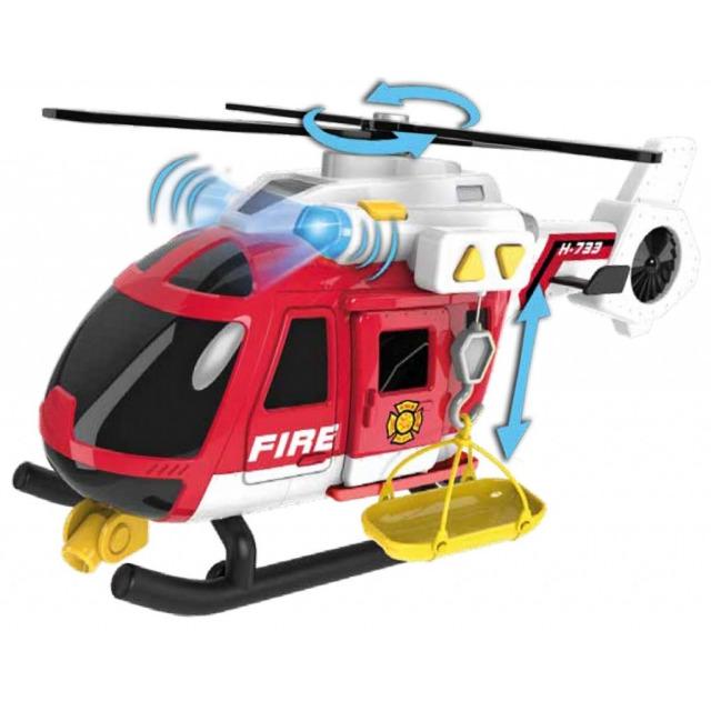 Obrázek produktu Helikoptéra hasičská se světlem a zvukem