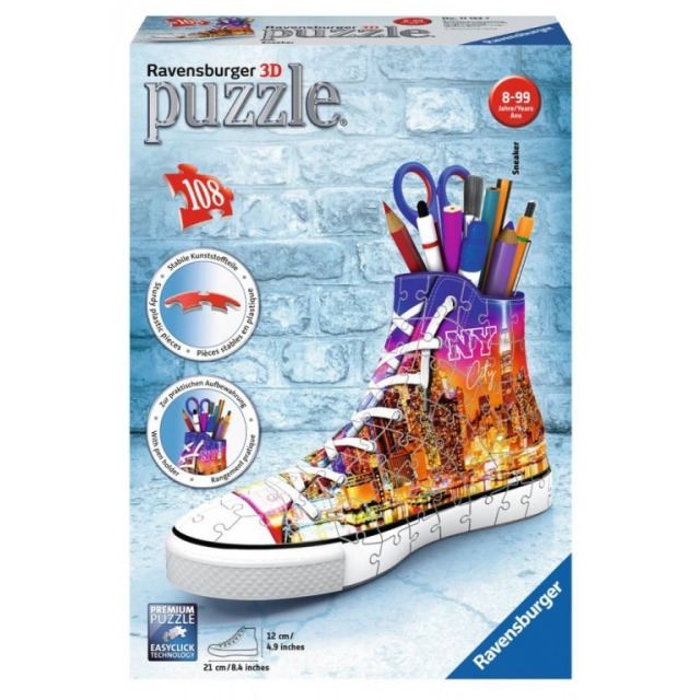 Obrázek produktu Ravensburger 11152 Puzzle 3D Kecka New York 108 dílků