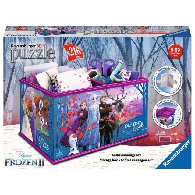 Obrázek produktu Ravensburger 12122 Puzzle 3D Úložná krabice Frozen 216 dílků