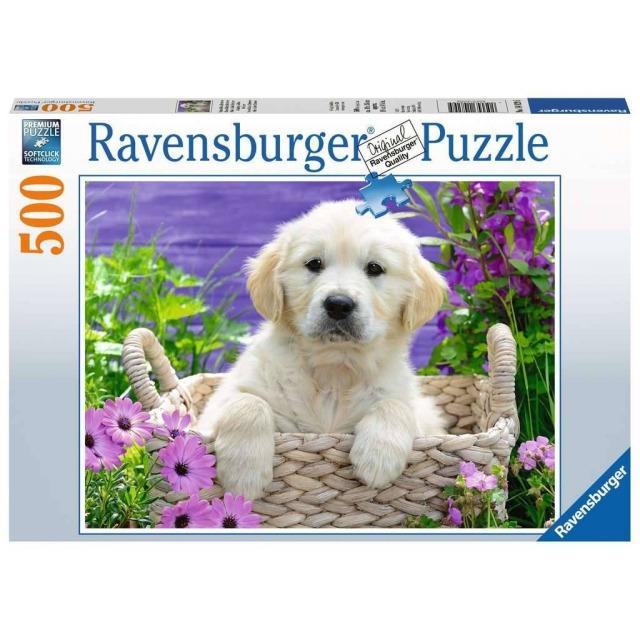 Obrázek produktu Ravensburger 14829 Puzzle Sladký zlatý Retriever 500 dílků
