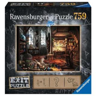 Obrázek 1 produktu Ravensburger 19954 Exit Puzzle: Dračí laboratoř 759 dílků