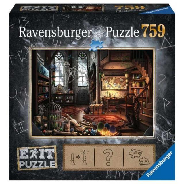 Obrázek produktu Ravensburger 19954 Exit Puzzle: Dračí laboratoř 759 dílků