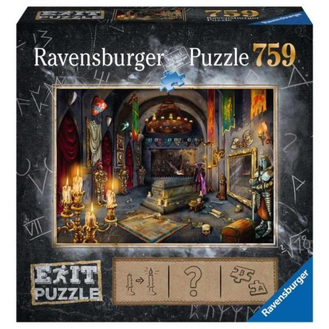 Obrázek produktu Ravensburger 19955 Exit Puzzle: Upírův hrad 759 dílků