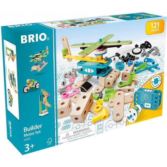 Obrázek produktu BRIO Builder 34591 Stavebnice sada s motorem
