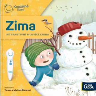 Obrázek 1 produktu Albi Kouzelné čtení Minikniha - Zima